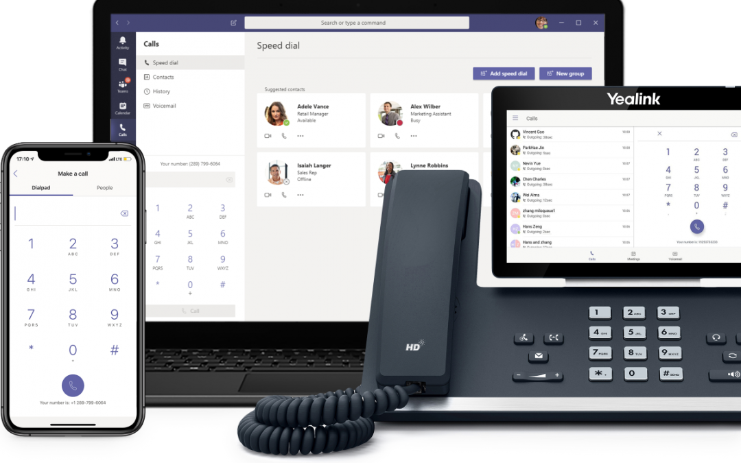 Microsoft 365 Business Voice with Calling Plan