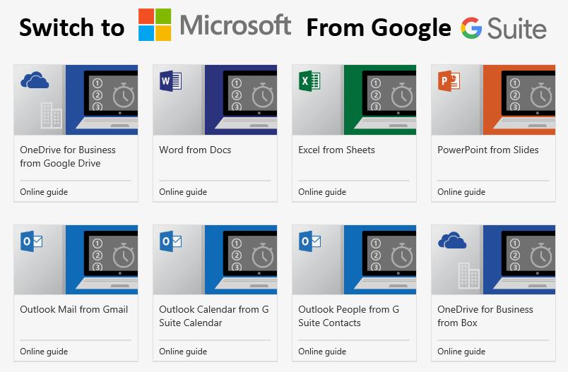 Google Workspace to Microsoft 365 Migration