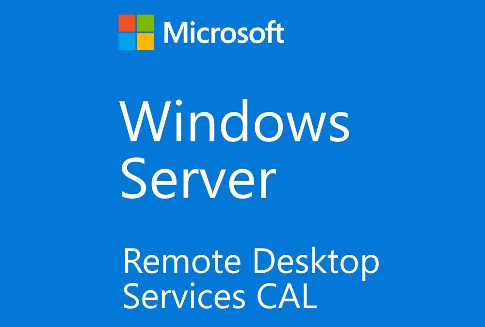 Windows Server Remote Desktop Services RDS CAL